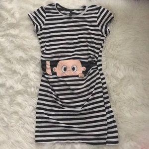 Maternity Baby Peekaboo Dress sz S